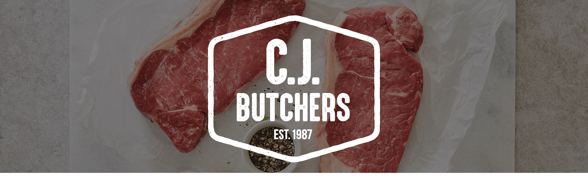 C.J. Butchers Banner