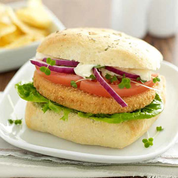 Picture of Moy Park Chicken Quarterpounders (24x115g)