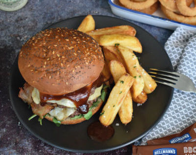 Spring & Summer - Double Stack BBQ Burger