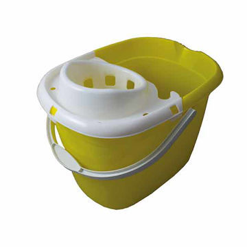 Picture of 15ltr Mop Bucket Yellow (10x15L)