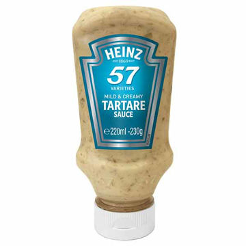 Picture of Heinz Table Top Tartare Sauce (8x220ml)