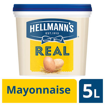 Picture of Hellmann's Real Mayonnaise (5ltr)