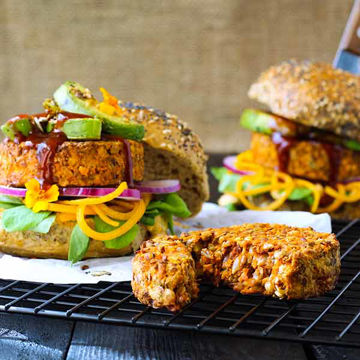 Picture of BBQ Lentil & Mixed Seed Burgers (24x88g)