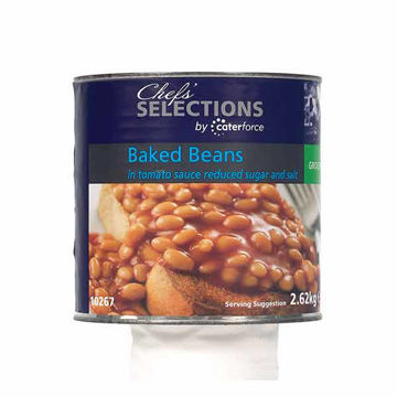 Picture of Low Sugar & Salt Baked Beans (6x2.62kg)