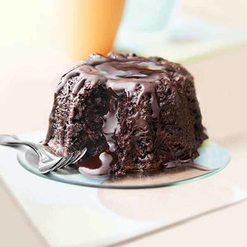 Picture of Molten Chocolate Cake (4x9)