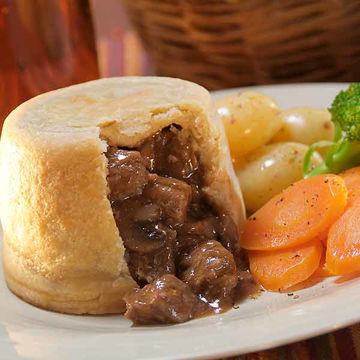 Picture of Steak, Mushroom & Ale Puddings (8x390g)