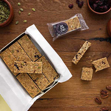 Picture of Cranberry & Pecan Flapjacks  (GF) (18)