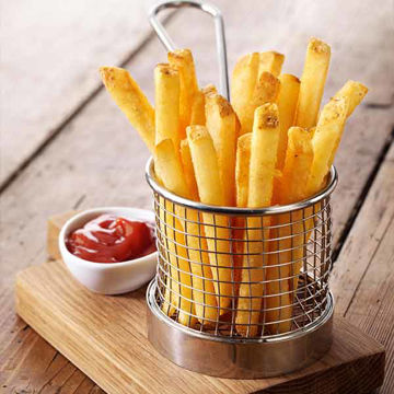 Picture of Skin-on Fries - Thin Cut 3/8 (4x2.27kg)