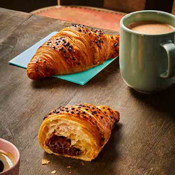 Picture of Cocoa Hazelnut Filled Croissants (44)
