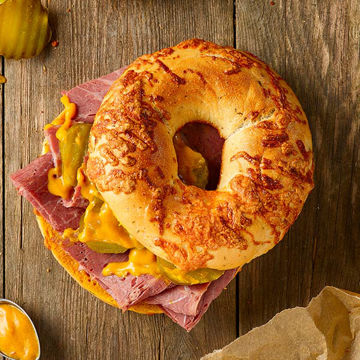 Picture of Cheese & Jalapeno Bagels (24x115g)