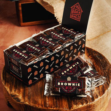 Picture of Individually Wrapped Chocolate & Raspberry Brownie (2x15x75g)