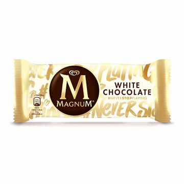 Picture of Wall's Magnum White Chocolate (20x110ml)