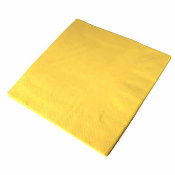 Picture of 33cm/2 ply Sunny Yellow Napkins (20x100)