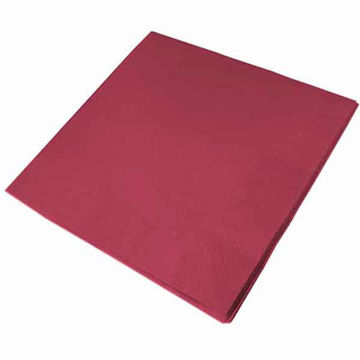 Picture of 33cm/2 ply Burgundy Napkins (20x100)