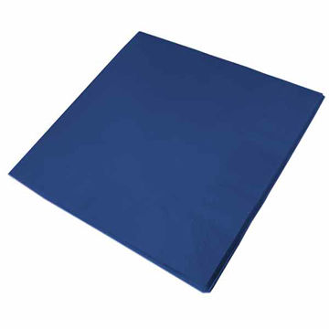 Picture of 40cm/3 Ply Blue Napkins (10x100)