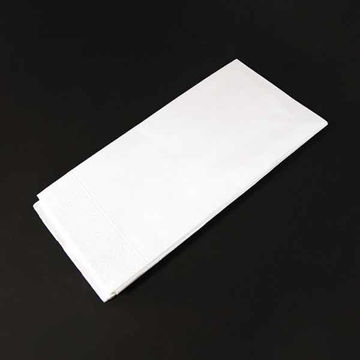 Picture of 40cm/2 Ply White Napkins (16x125)