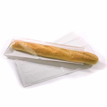 Picture of Film Fronted Baguette Bags 4x6x14? (1000)