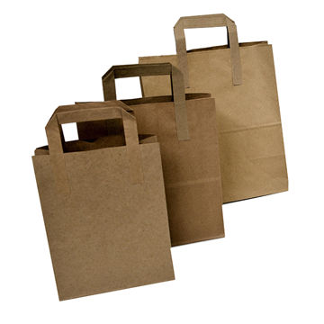Picture of Small Kraft Paper Carriers (250)