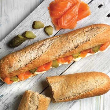 Picture of Wholemeal Demi Baguettes (50x135g)