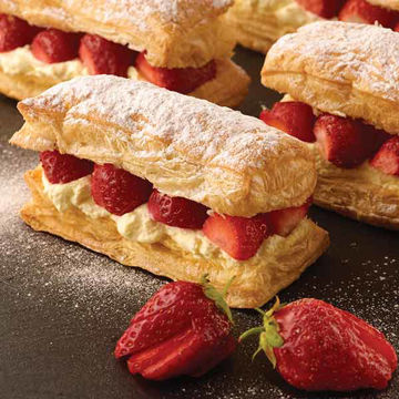 Picture of Puff Pastry Rolls (2x10kg)