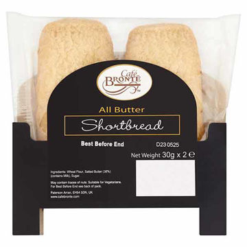 Picture of All Butter Shortbread Dunking Bars (24x2x30g)