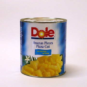 Picture of Pineapple Pieces (Pizza Cut) in Syrup (6x3kg)