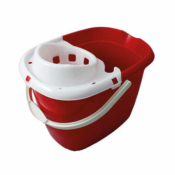 Picture of 15ltr Mop Bucket Red (10x15L)