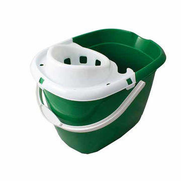 Picture of 15ltr Mop Bucket Green (10x15L)
