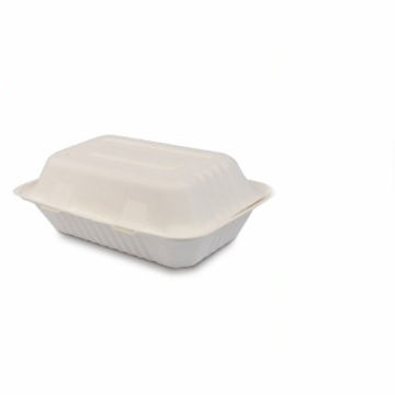 Picture of Echo Compostable Bagasse Meal Boxes (250)