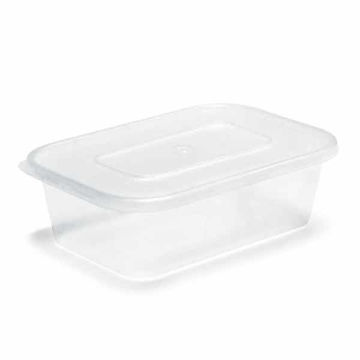 Picture of Microwavable Containers & Lids (250)