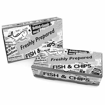Picture of Large Fish & Chip Boxes (100)