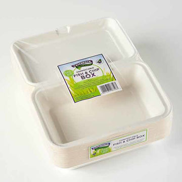 Picture of Enviro Fish & Chip Boxes (10x50)