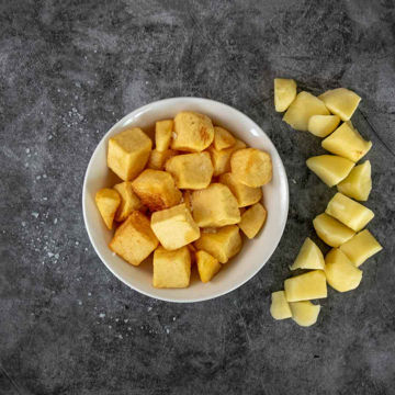 Picture of 30mm Diced Potatoes Skin On (5kg)