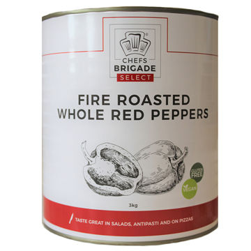 Picture of Fire Roasted Red Peppers (6x3kg)