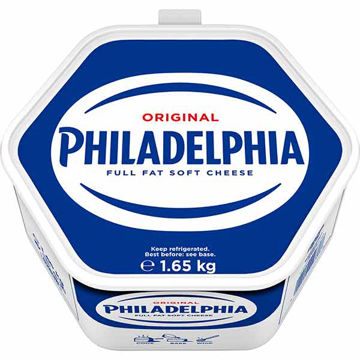 Picture of Philadelphia Full Fat Soft Cheese (4x1.65kg)