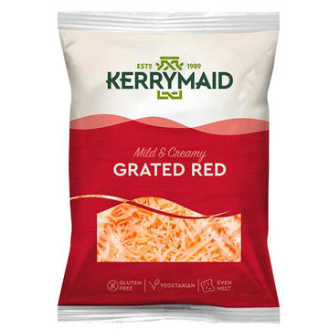 Picture of Kerrymaid Red Grated (6x2kg)