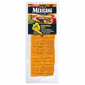 Picture of Mexicana Original Hot Cheese Slices (12x500g)