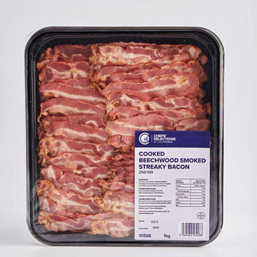 Picture of Beechwood Smoked Streaky Bacon (8x1kg)