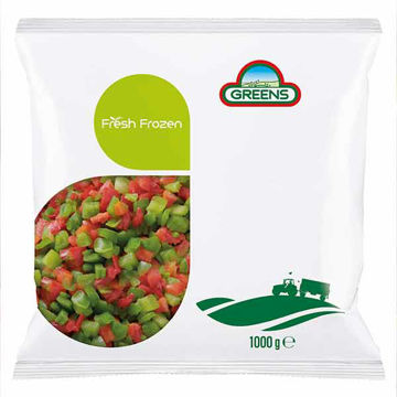Picture of Diced Mixed Peppers (10x1kg)