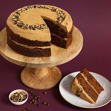 Picture of Coffee & Walnut Cake (16p/ptn)