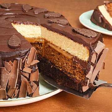 Picture of Autumnal Log Cake (14p/ptn)