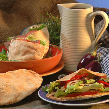 Picture of Large (Kebab) Pitta (20x6)