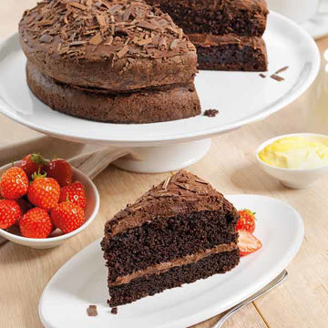 Picture of Gluten Free Naughty Chocolate Cake (14p/ptn)