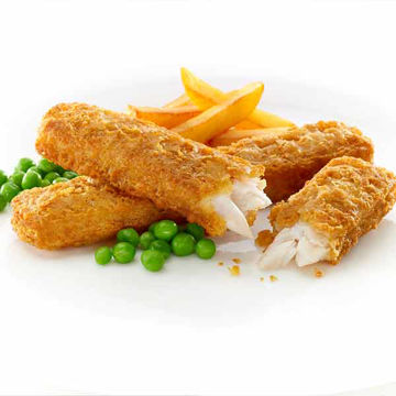 Picture of Jumbo Battered White Fish Fingers (36x71g)