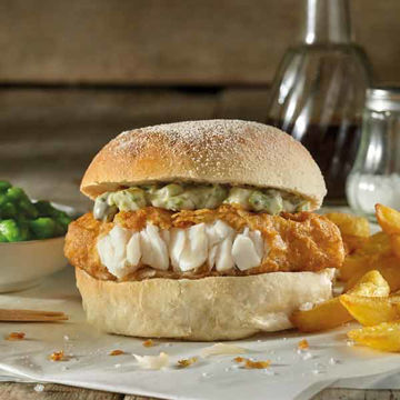 Picture of Quarter Pounder Fillet of Fish (24x113g)