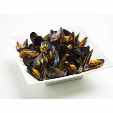 Picture of Natural Wholeshell Mussels (5x1kg)