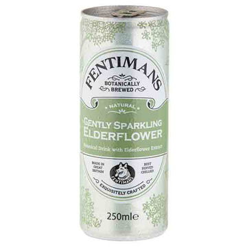Picture of Gently Sparkling Elderflower Cans (12x250ml)