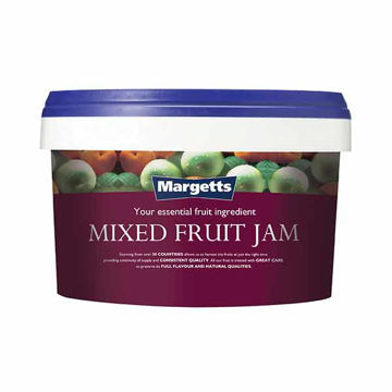 Picture of Margetts Mixed Fruit Jam (4x3kg)