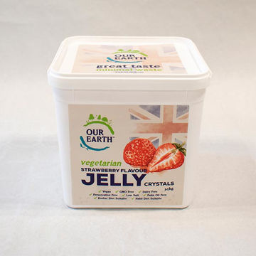 Picture of Strawberry Flavour Jelly Crystals (4x3.5kg)
