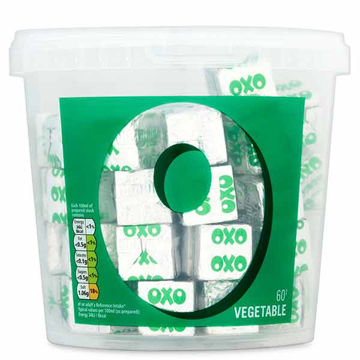 Picture of OXO Vegetable Stock Cubes (6x378g)
